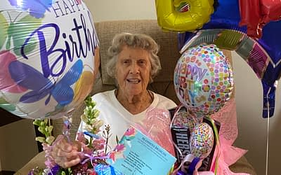 Morning Pointe Resident Celebrates 95th Birthday on July 4