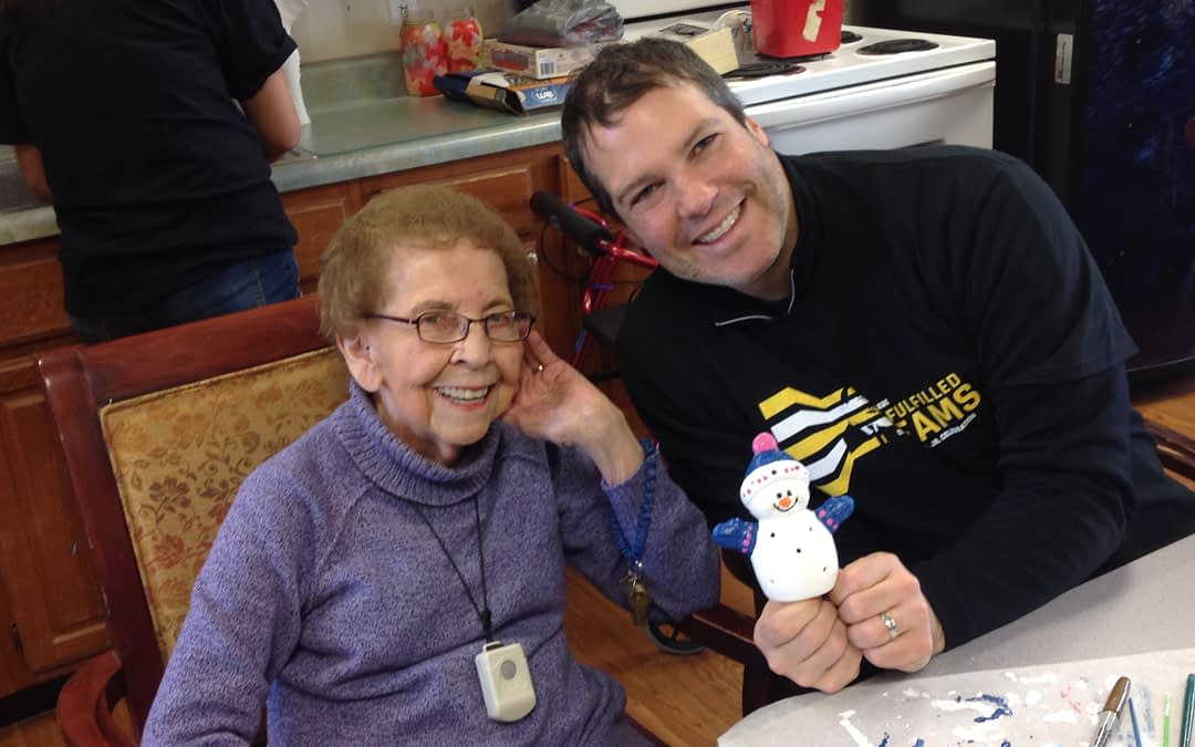 Franklin College Honors King's Legacy through Community Service at Morning Pointe