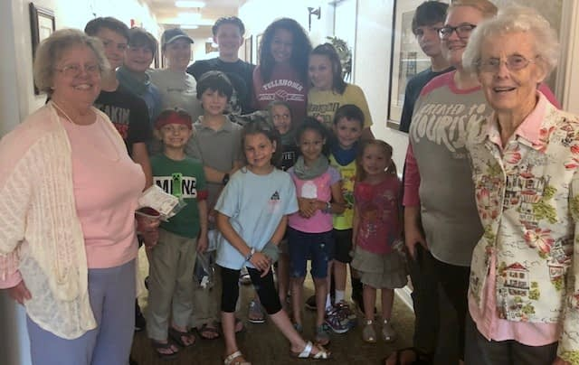 Highland Hills Church Summer Camp Visits Morning Pointe