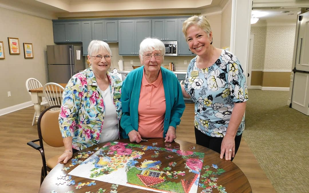 Morning Pointe Welcomes First Resident at New Memory Care Center