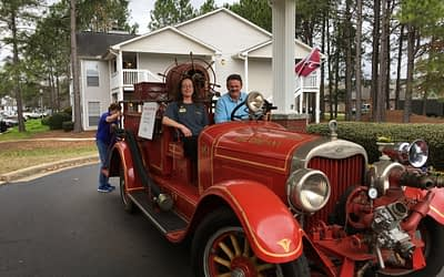 Morning Pointe Celebrates 20th Anniversary with Antique Autos during 'Taste of the Town' Event