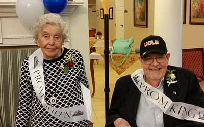 Morning Pointe Crowns King, Queen at 2nd Annual 'Senior Prom'