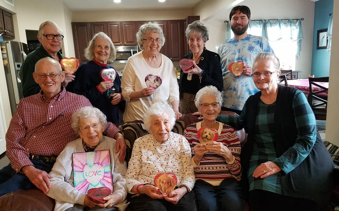 Morning Pointe Volunteers Host Residents for Second Annual Fish Fry
