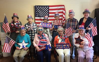Happy 4th of July from Morning Pointe Senior Living