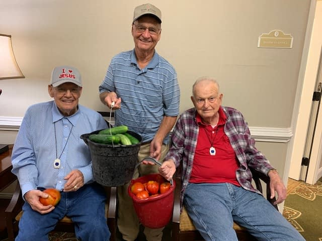 Community Farmer Shares Fresh Produce with Morning Pointe Residents