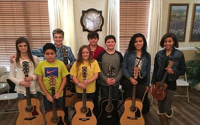 Students Pull Heartstrings with Guitar Recital at Morning Pointe