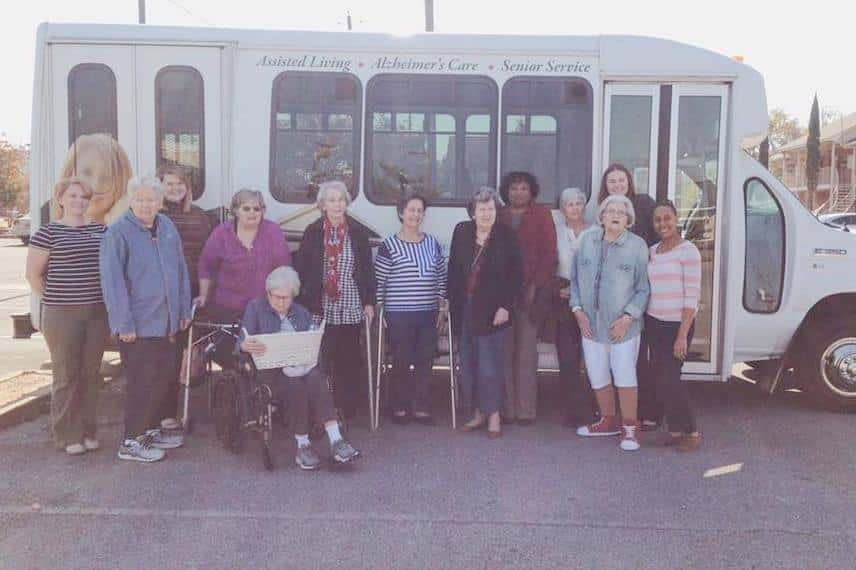 As part of the life enrichment program, the assisted living and memory care residents are always seeking opportunities to give back to the community.