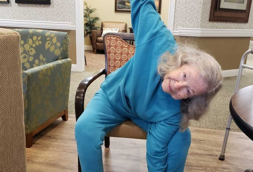 Exercise Classes Encourage Morning Pointe Residents to Stay Active