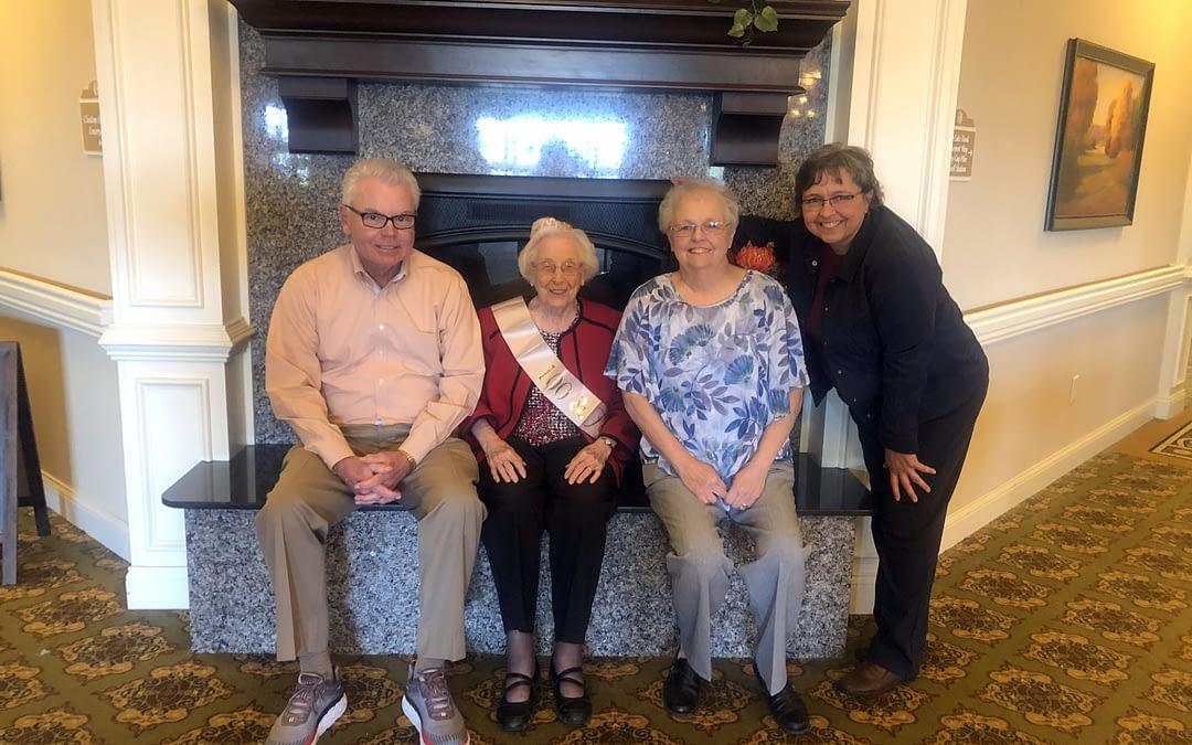 Thelma's 100th Birthday
