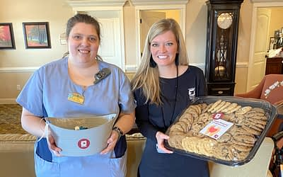 Volunteer Honors Morning Pointe Associates on National Caregiver Day