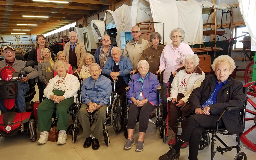 Morning Pointe Couple Shares Barn Full of Historical Artifacts with Fellow Residents