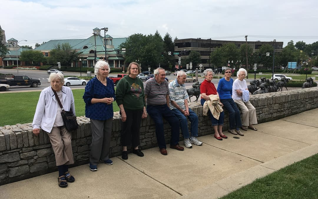 Morning Pointe Residents Enjoy Day at Thoroughbred Park