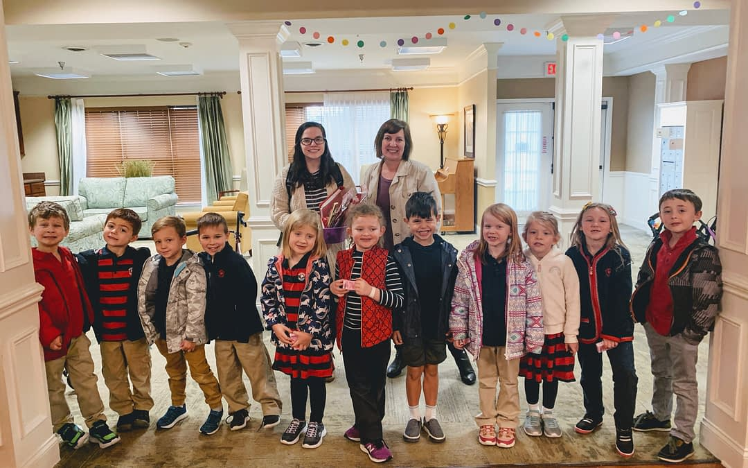 Primrose Kindergartners Cultivate Friendship at Morning Pointe