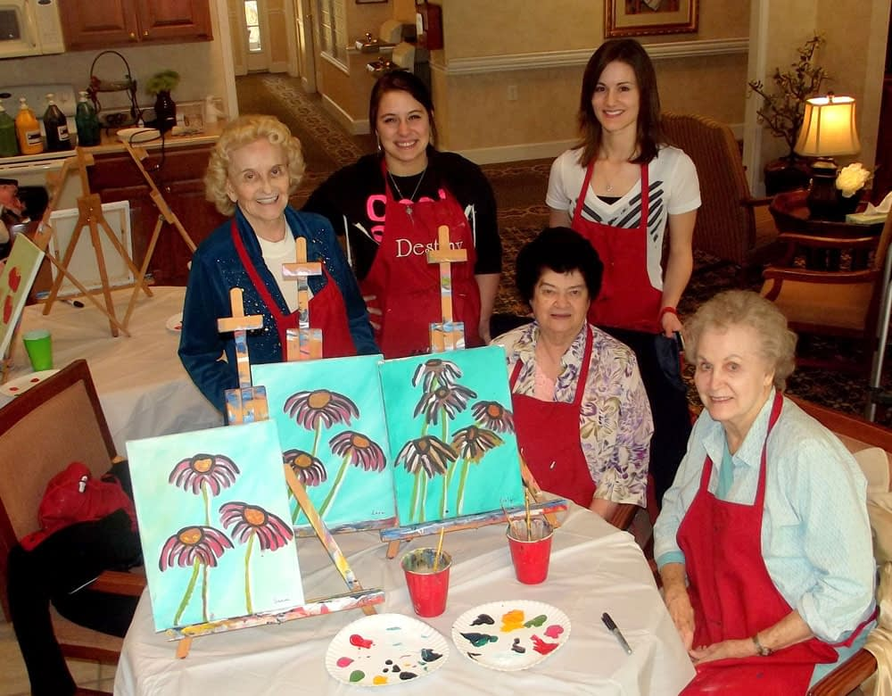 Meaningful days at Morning Pointe Senior Living