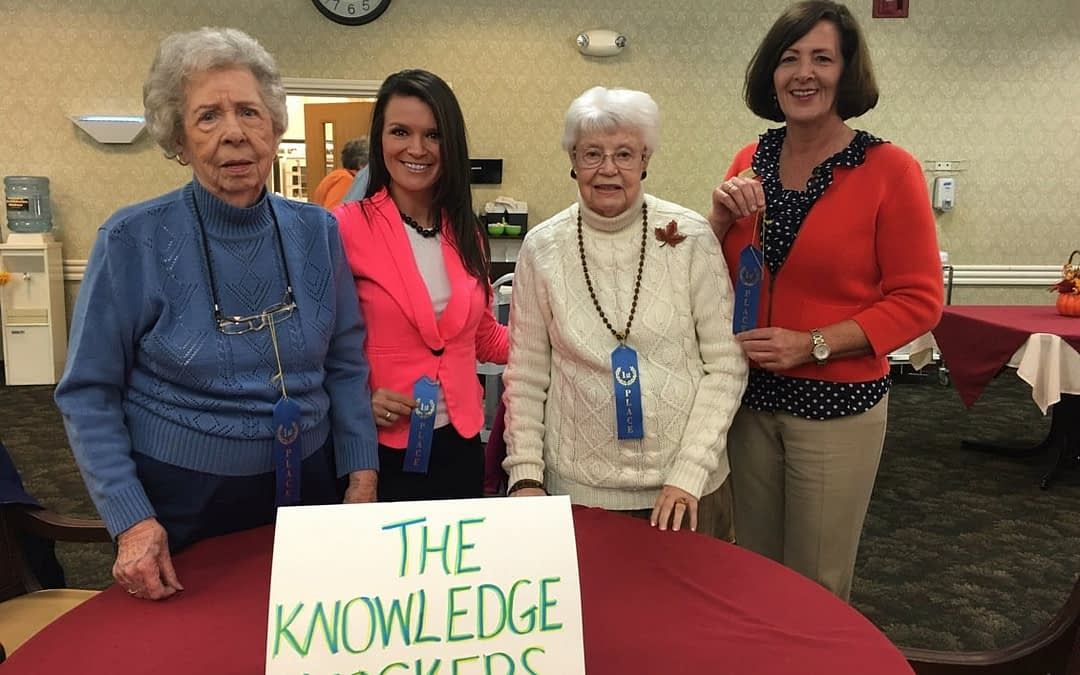 Morning Pointe, Guardian Home Health 'Knock out' Breast Cancer at Life Care Trivia Contest