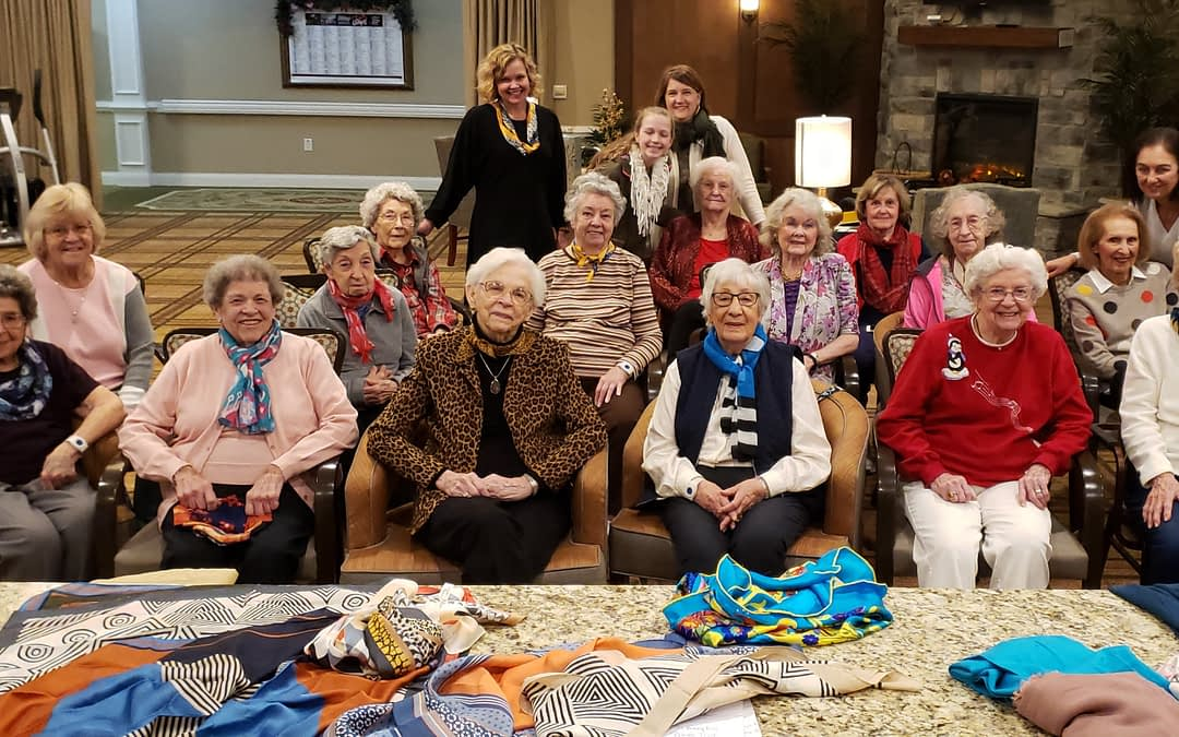 Local Boutique Owner Leads Fashion Workshop at Morning Pointe