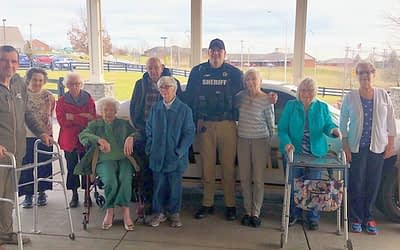 "Morning Pointe Residents Say ""Thank You"" to Local Sheriff's Department"