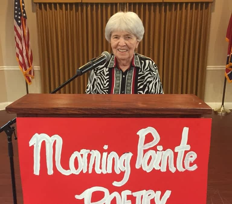 Morning Pointe Hosts Poetry Night