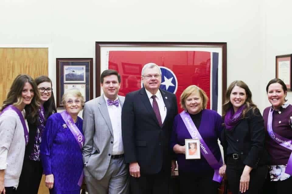 Morning Pointe Communities Advocate Alzheimer's Awareness at State Capitol
