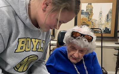 Boyle County Student Makes a Difference at Morning Pointe
