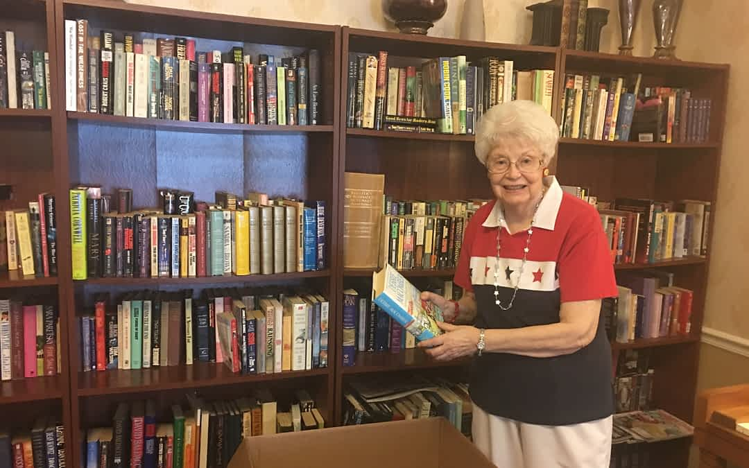 Merry Scott, Morning Pointe of Athens resident, was inspired by an article she read in the Daily Post-Athenian about the McMinn County Jail's adult learning program. So far, she and other residents at the assisted living community have donated more than 65 books to the program.