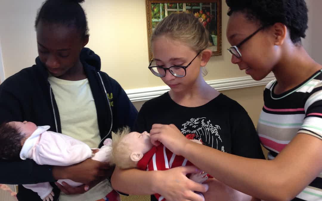 Girls Inc. of Johnson County Concludes a Summer of Volunteering at Morning Pointe