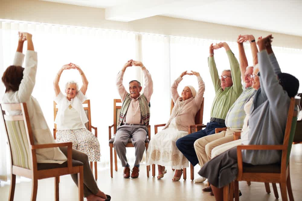 Physical Activity is a Priority at Morning Pointe