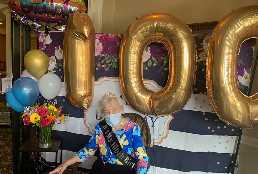 Morning Pointe Resident Celebrates 100th Birthday