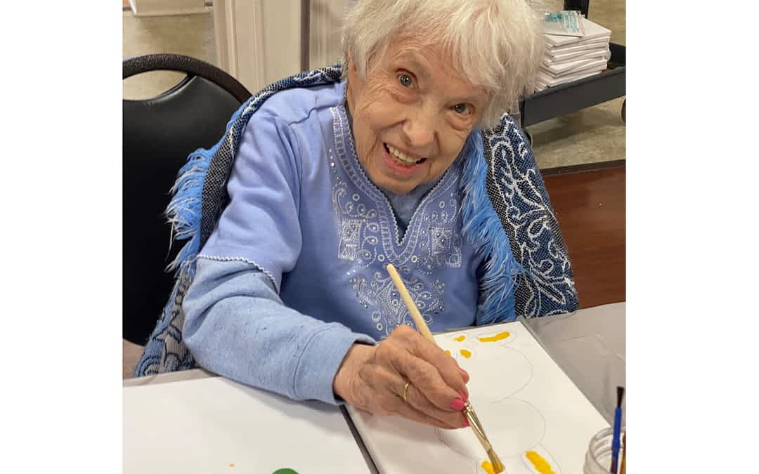 Morning Pointe Residents Prepare for Annual Spring Art Auction to Benefit Alzheimer's Tennessee
