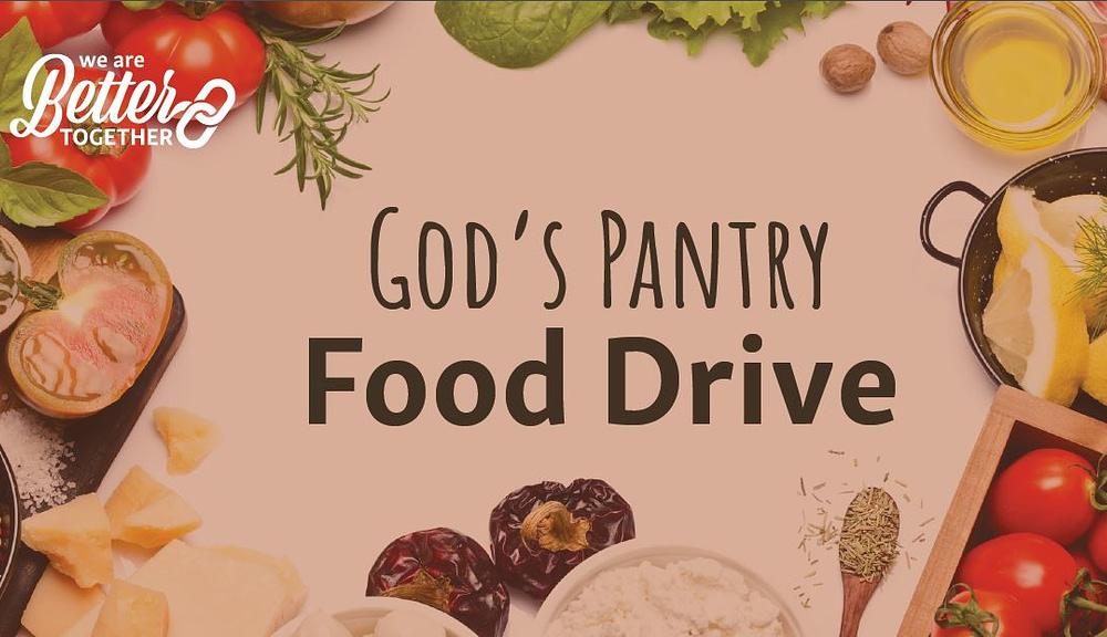 God's Pantry Food Drive