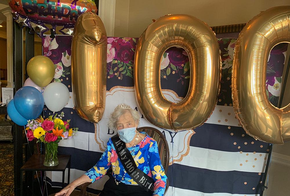 Morning Pointe Resident Celebrates 100th Birthday