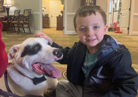 Pet Therapy Makes Waves at Morning Pointe