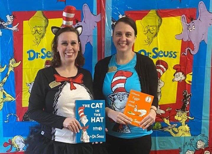 Morning Pointe Associates Volunteer at Local Schools for Dr. Seuss's Birthday