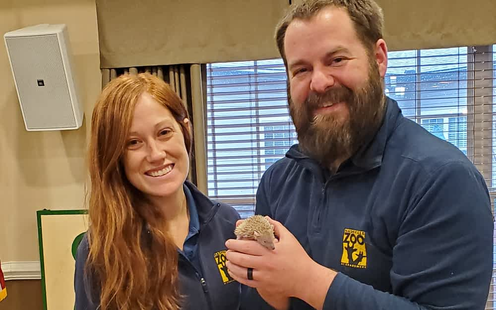 Nashville Zoo Brings Wildlife on Wheels to Morning Pointe