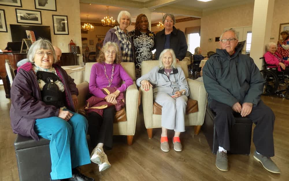 Apison Baptist Choir Performs at Morning Pointe