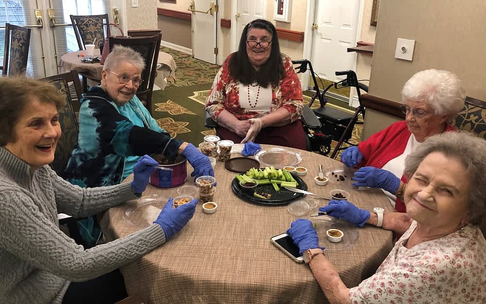 Morning Pointe Residents Share Passion for Cooking
