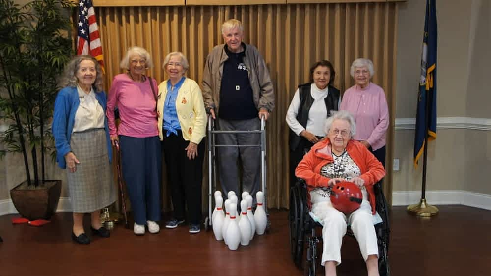 Morning Pointe Communities Face-off in Friendly Bowling Challenge