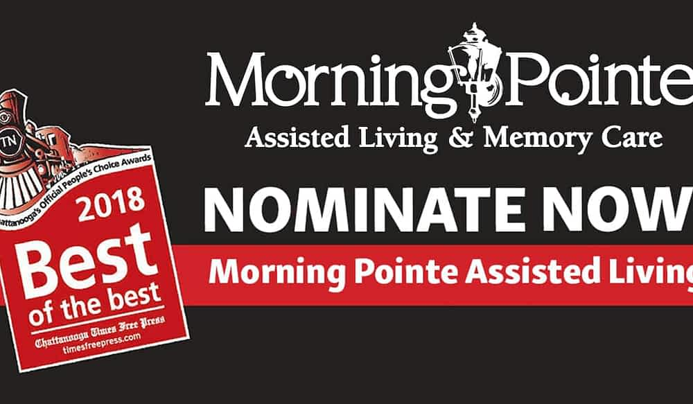 """Nominate Morning Pointe Assisted Living for """"Best Assisted Living"""""""