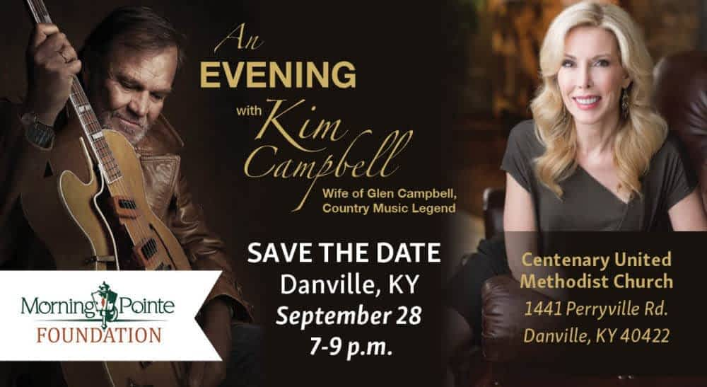 "Morning Pointe Foundation Hosts ""An Evening with Kim Campbell"" Sept. 28"