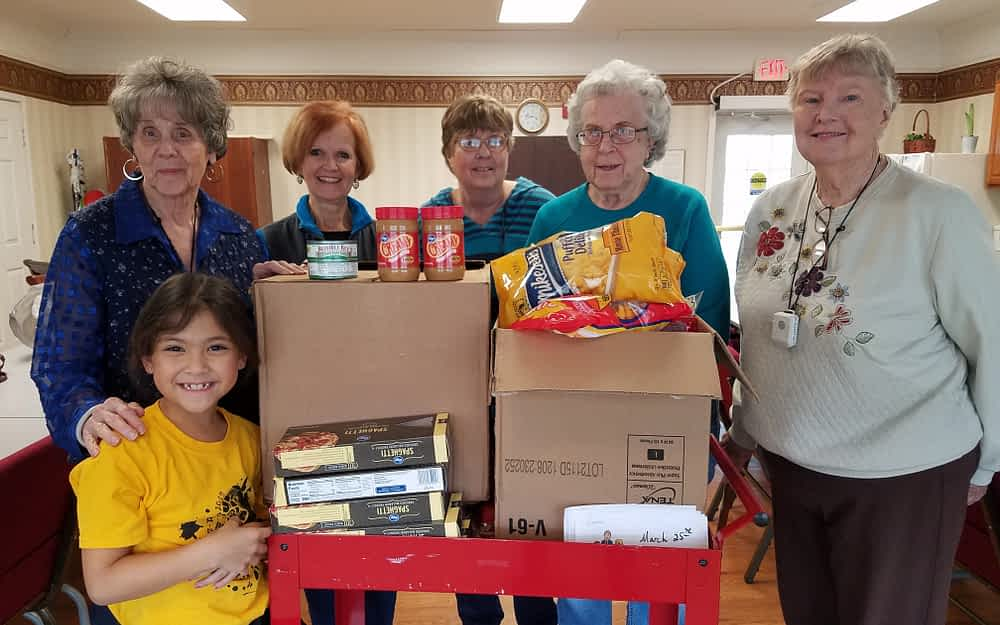 Morning Pointe Aspires to Donate 1000 Pounds of Food to Local Food Pantry