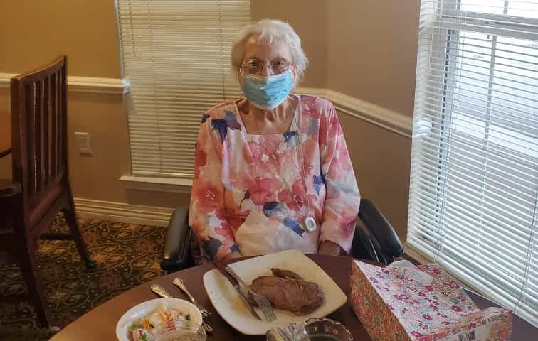 Morning Pointe Resident Turns 107