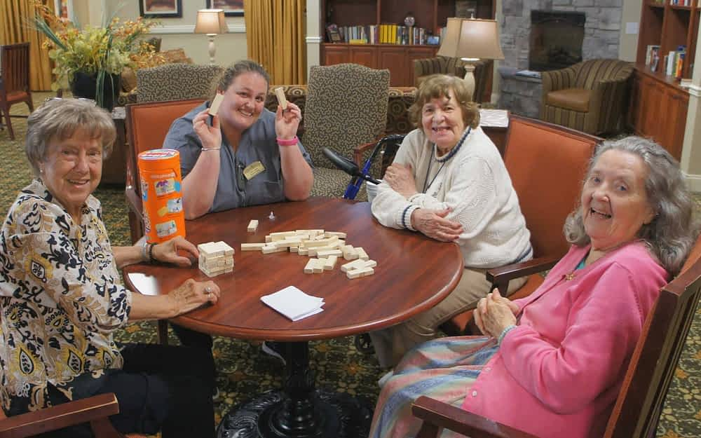 Morning Pointe Housekeeper Regularly Takes Time to Bond with Residents
