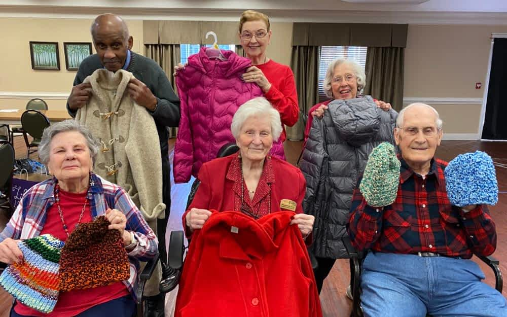 Morning Pointe Collects Coats for Habitat for Humanity