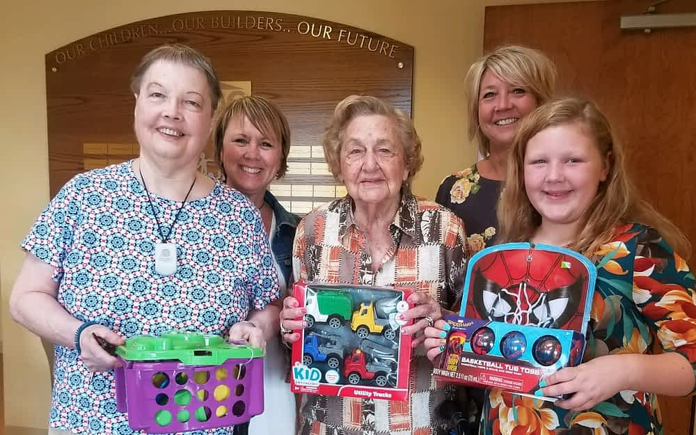 Morning Pointe Residents Hold Toy Drive to Benefit Child Advocacy Center