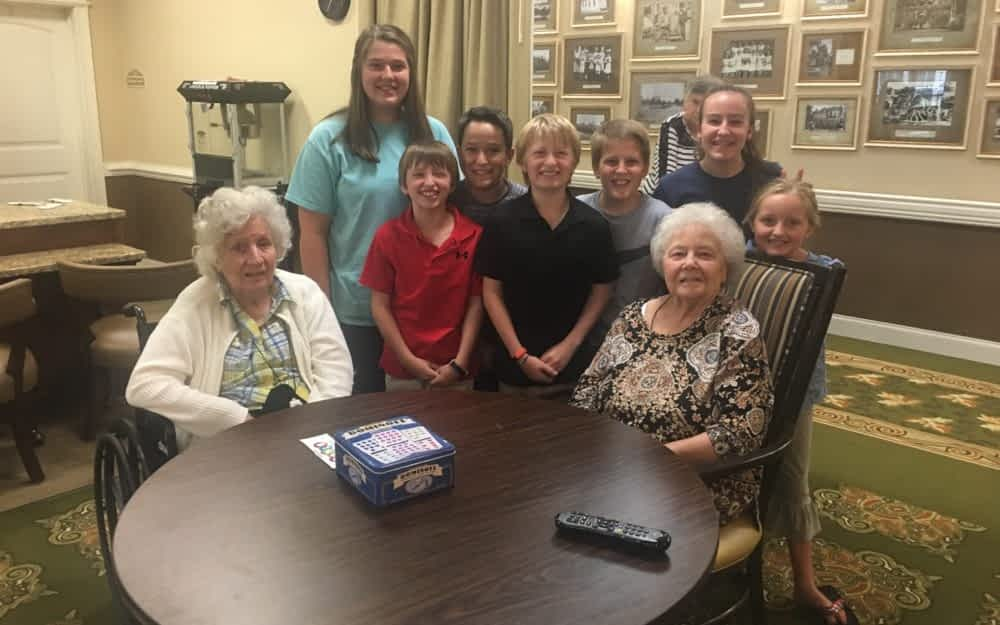 Student-Led Devotional Group Bridges Generations at Morning Pointe