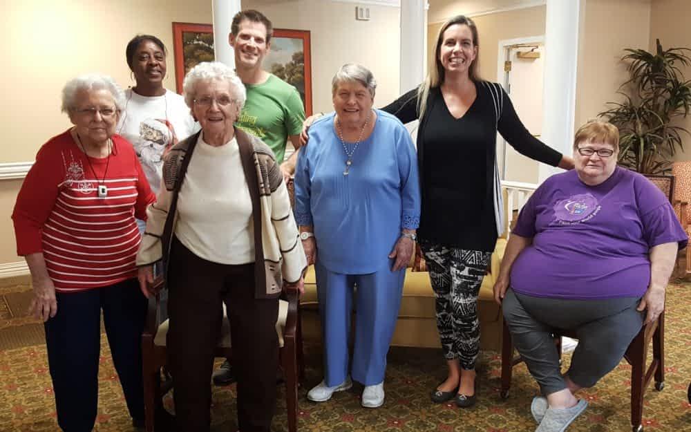 Yoga Instructor and Motivational Speaker Inspires Morning Pointe Residents