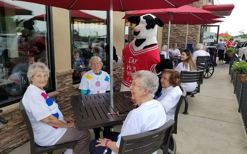 Morning Pointe Celebrates Cow Appreciation Day