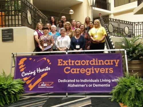 """Morning Pointe Associate Recognized as """"Caring Heart"""" by Alzheimer's Tennessee"""
