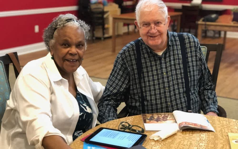 Local Church Partners with Morning Pointe for Weekly Bible Study