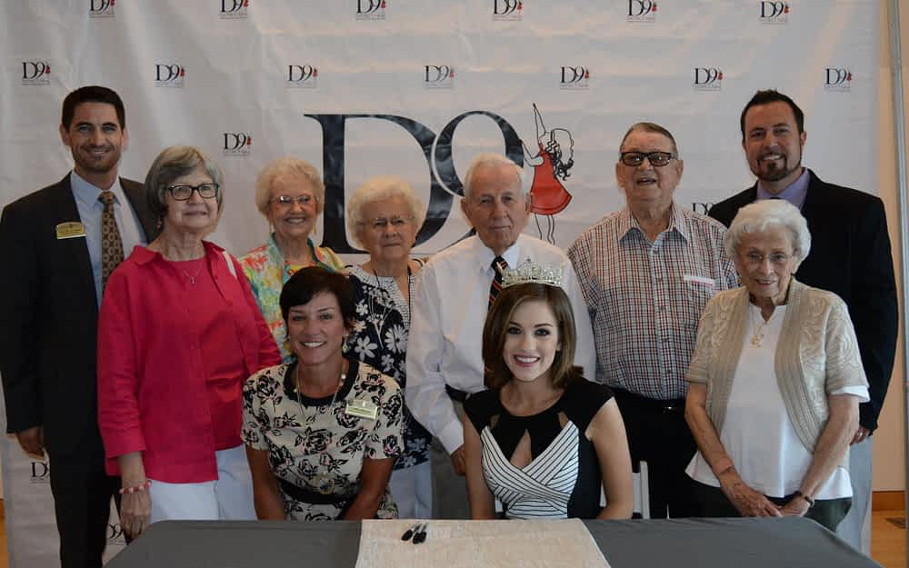 Morning Pointe Residents Meet Miss America, Support D9 Education Foundation